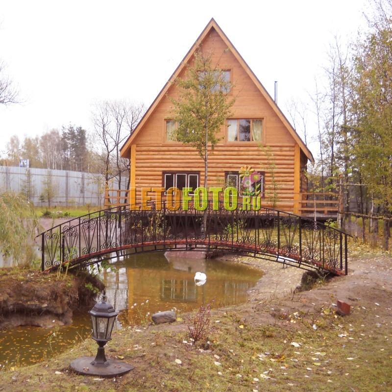 Мостик для дачи из металла и дерева. большое фото.: http://www.letofoto.ru/system/img.php?folder=model/&art=173016