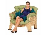 Кресло плетеное из полиамида №3