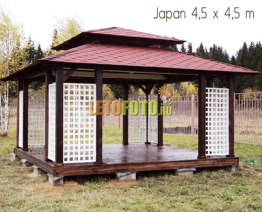 японская беседка фото