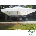 Зонт уличный из эвкалипта